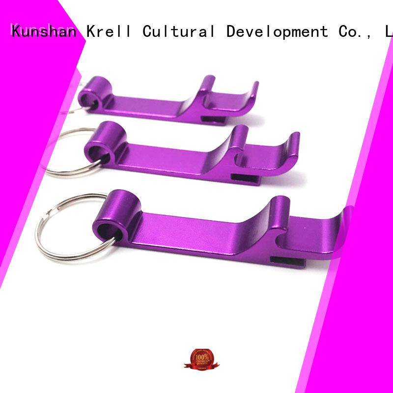 Krell long lasting custom bottle openers factory price for commercial