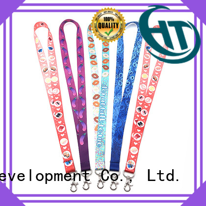 Krell badge lanyards directly sale for gift