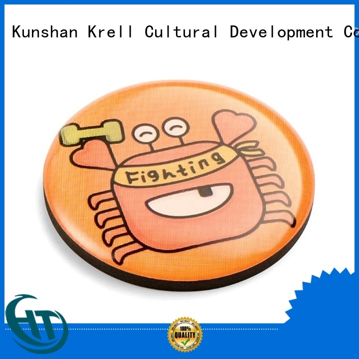 Krell custom enamel pins wholesale for souvenir